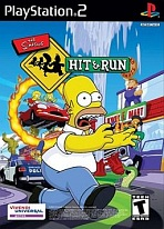 Obal-Simpsons: Hit & Run, The