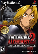 Obal-Fullmetal Alchemist 2: Curse of the Crimson Elixir