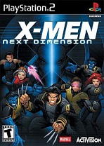 Obal-X-Men: Next Dimension