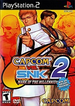 Obal-Capcom vs. SNK 2: Mark of the Millennium 2001
