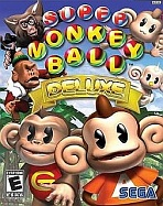 Obal-Super Monkey Ball Deluxe