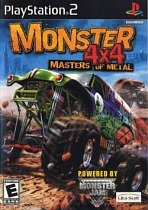 Obal-Monster 4x4: Masters of Metal