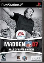 Obal-Madden NFL 07: Hall of Fame Edition
