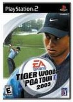 Obal-Tiger Woods PGA Tour 2003