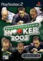 Obal-World Championship Snooker 2003