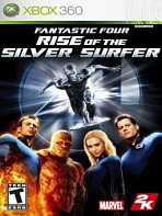 Obal-Fantastic 4: Rise of the Silver Surfer
