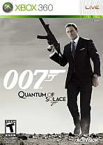 Obal-James Bond: Quantum of Solace