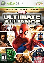 Obal-Marvel: Ultimate Alliance Gold Edition