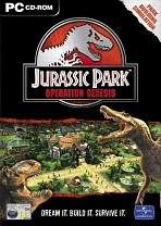 Obal-Jurassic Park: Project Genesis