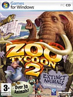 Obal-Zoo Tycoon 2: Extinct Animals