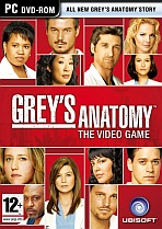 Obal-Greys Anatomy: The Video Game