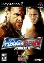 Obal-WWE SmackDown vs Raw 2009