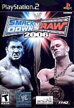 Obal-SmackDown vs. RAW 2006