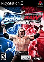 Obal-SmackDown vs. RAW 2007