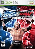 Obal-WWE SmackDown vs. RAW 2007
