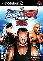 Obal-SmackDown vs. RAW 2008