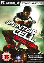 Obal-Tom Clancy´s Splinter Cell: Conviction