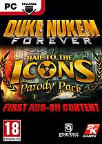 Obal-Duke Nukem Forever - Hail to the Icons Parody Pack