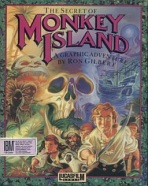 Obal-Secret of Monkey Island, The