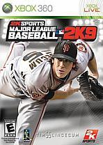 Obal-Major League Baseball 2K9