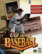 Obal-Old Time Baseball