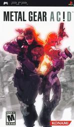 Obal-Metal Gear Acid