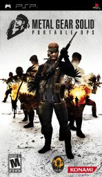 Obal-Metal Gear Solid: Portable Ops