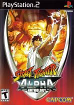 Obal-Street Fighter Alpha Anthology