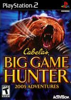 Obal-Cabela´s Big Game Hunter 2005 Adventures