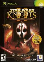 Obal-Star Wars Knights of the Old Republic II: The Sith Lords