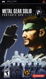 Obal-Metal Gear Solid: Portable Ops Plus
