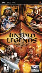 Obal-Untold Legends: Brotherhood of the Blade