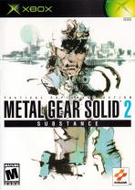 Obal-Metal Gear Solid 2: Substance