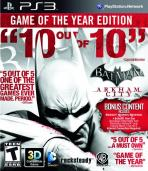 Obal-Batman: Arkham City: Game of the Year Edition