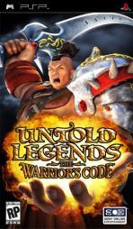 Obal-Untold Legends: The Warrior´s Code