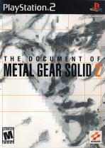 Obal-The Document of Metal Gear Solid 2