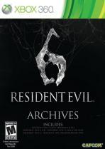 Obal-Resident Evil 6 Archives
