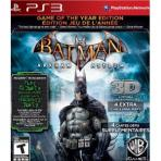 Obal-Batman: Arkham Asylum: Game of the Year Edition
