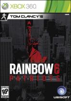 Obal-Tom Clancy´s Rainbow 6: Patriots