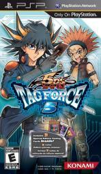 Obal-Yu-Gi-Oh! 5D´s Tag Force 5