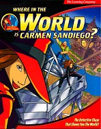 Obal-Where In Europe Is Carmen Sandiego?