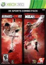 Obal-2K Sports Combo Pack: MLB 2K12/NBA 2K12