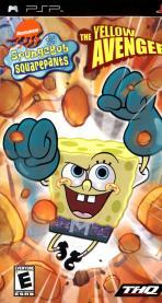 Obal-Spongebob Squarepants: The Yellow Avenger