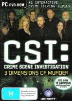 Obal-CSI: 3 Dimensions of Murder