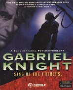 Obal-Gabriel Knight: Sins of the Fathers