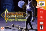 Obal-Castlevania: Legacy of Darkness