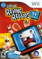 Obal-Rayman Raving Rabbids: TV Party