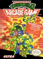 Obal-Teenage Mutant Ninja Turtles II: The Arcade Game