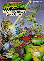 Obal-Teenage Mutant Ninja Turtles III: The Manhattan Project