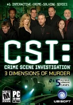 Obal-CSI: Crime Scene Investigation: 3 Dimensions of Murder